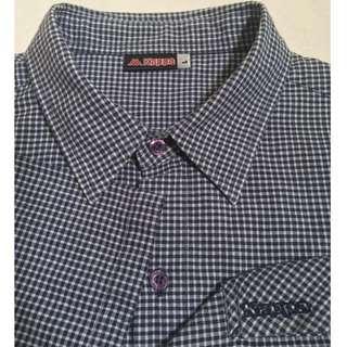 Kappa Gingham Short Sleeve Shirt