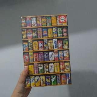 [全新平放] EDUCA罐裝飲品 經典1000塊迷你拼圖 CANS 1000 Pieces Miniature Puzzle
