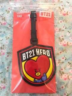 BT21 Tata Luggage Tag