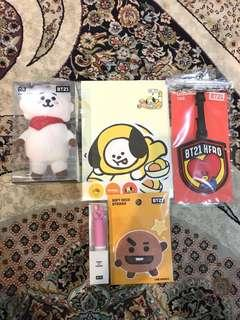 Official Readystock BT21 Items