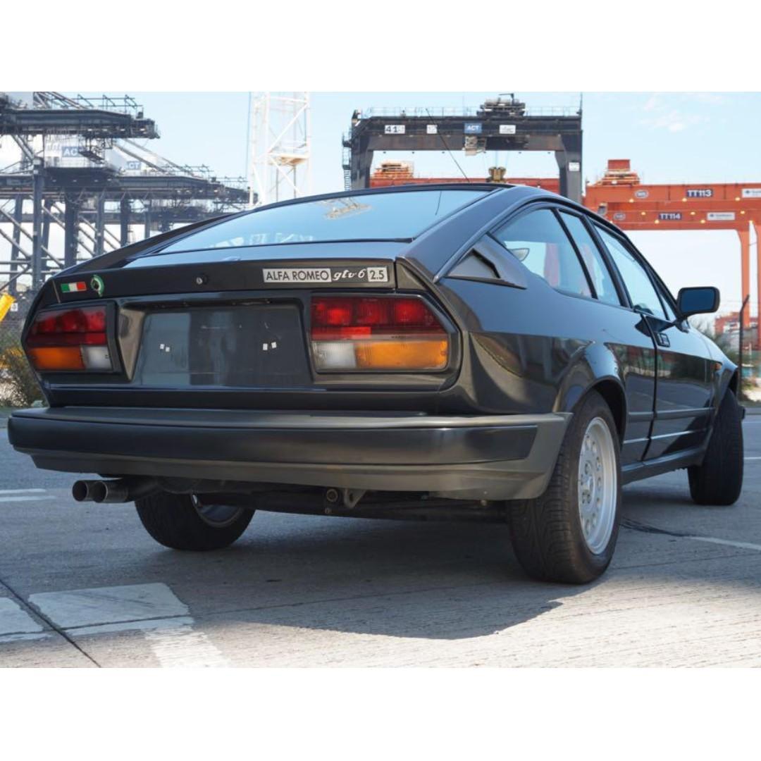 1983 CLASSIC ALFA ROMEO ALFETTA GTV6 2.5