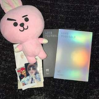 Love Yourself Albums + Plushie Freebie