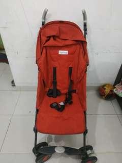 Preloved Peg Perego Pliko Mini Merah