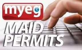 Renewal Worker / Maid Permit.