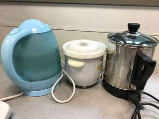 Kettles, electrical claypot