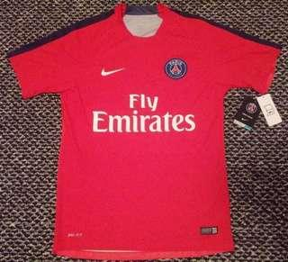 Authentic Nike Fly Emirates Football Jersey (Paris)