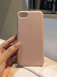 🚚 pink sand liquid silicone case iphone