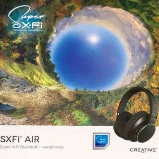 CREATIVE SXFI AIR Bluetooth and USB Headphones with Built-In Super X-Fi Technology