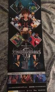 Kingdom Hearts 3 Poster Large Double Sided 1M
