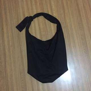 Black shoulder bags PULL&BEAR