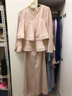 Shafinaz co size s nude color