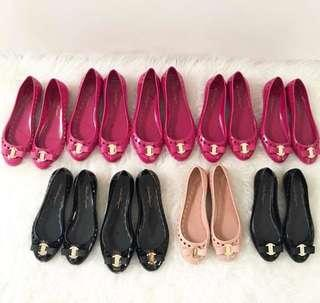 Chanel Jelly Flat Shoes