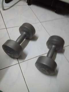Silver Dumbbell 3kg