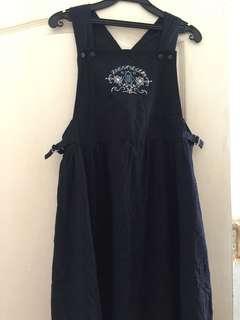 🚚 日製古著背心洋裝 復古懷舊連衣裙 連身裙