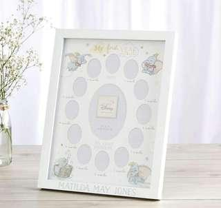 Disney Dumbo Magical Beginning Photo Frame My First Year 13 Photo Gift For Baby