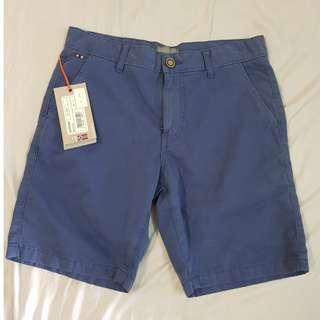 "BRAND NEW Napapijri Navy Blue Bermudas Berms Shorts W30"""