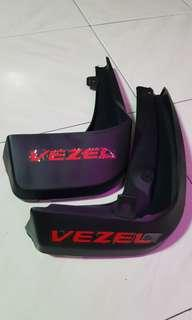 Honda Vezel Mud Guard (Red Wordings)