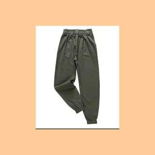 🚚 Army Green Cargo Cobain Pants