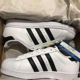 Adidas Superstar size 36.7 with box