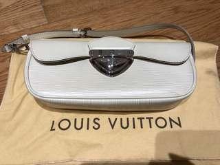 Louis Vuitton White Clutch