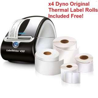 ⚡FLASH SALE!⚡ Dymo Label Writer 450, Thermal Label Printer + 4 Dymo Label Rolls Package [44% DISC]