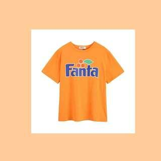 🚚 Fanta Orange Oversized T shirt