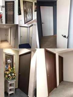 Solid laminated doors
