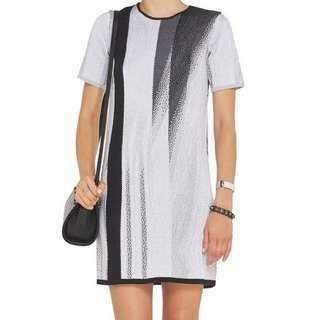 Helmut Lang Knit Sweater Shift Dress