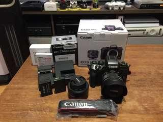 Canon M5 EF-M 15-45mm / 22mm