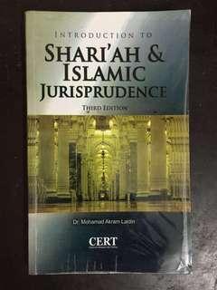 Law Book : Introduction to Islamic Jurispudence