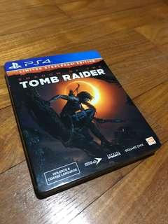 PS4 Shadow of the Tomb Raider Steelbox Edition