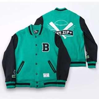BTS 3RD MUSTER OFFICIAL ARMY.ZIP+ BASEBALL JUMPER NEW NEVER WORN