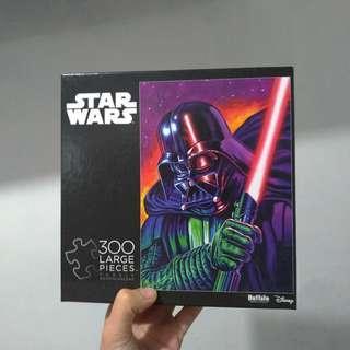 [全新平放]STAR WARS 黑武士 300塊大塊拼圖 Darth Vader 300 Pieces Large Puzzle