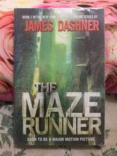 The Maze Runner, The Scorch Trials and The Death Cure.