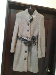 🚚 名媛風 質感毛線大衣