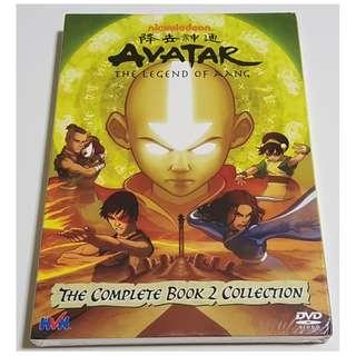 Avatar The Legend of Aang DVD (The Complete Book 2 Collection)(New)
