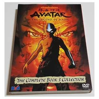 Avatar The Legend of Aang DVD (The Complete Book 3 Collection)(Used)