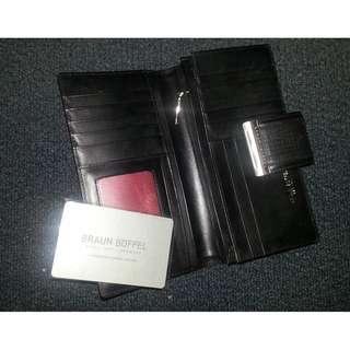 Braun Buffel Black Wallet