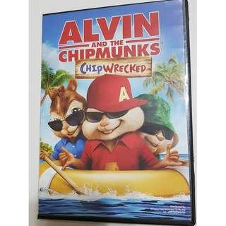 Alvin and the Chipmunks - Chipwrecked (Used)