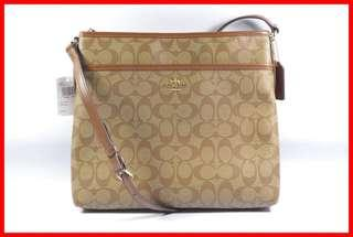 ORIGINAL Coach Khaki Saddle 2 Signature File Bag Sling Bag Brand New and Complete Inclusion Free Shipping and Express Shipping Nationwide