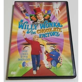 Willy Wonka The Chocolate Factory DVD (Used)