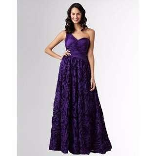 Adrianna Papell Gown Dress Size 2 Prewedding Prewed(Red Carpet Limited edition)
