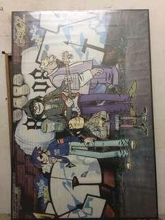 Gorilaz poster ( wood )