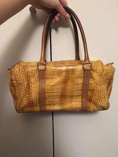 Crocodile Leather Antonio Barbato Handbag