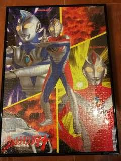Ultraman Dyna puzzle 超人帝拿連相架