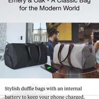 🚚 EMERY & OAK Duffle Travel Bag #Contiki2018