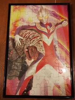 超人迪加 puzzle 連相架