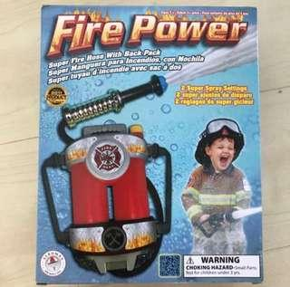 🚚 BNIB fireman back pack water hose