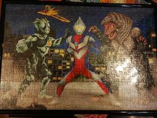 超人迪加 puzzle連相架