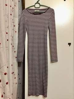 Bershka Stripe Dress